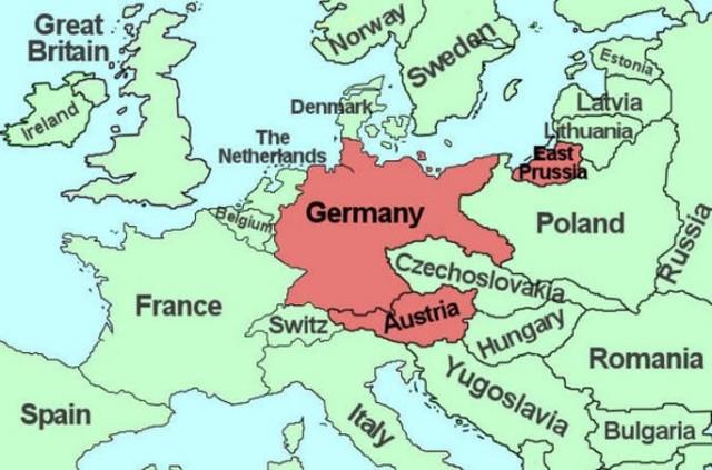 Invasión alemana de Austria