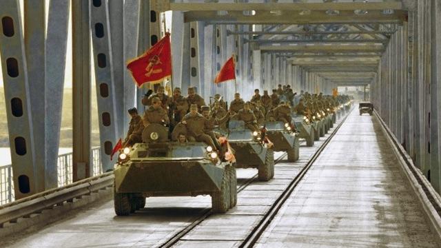 Salida de los Soviéticos de Afganistán