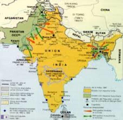 Independencia de la India y Pakistán