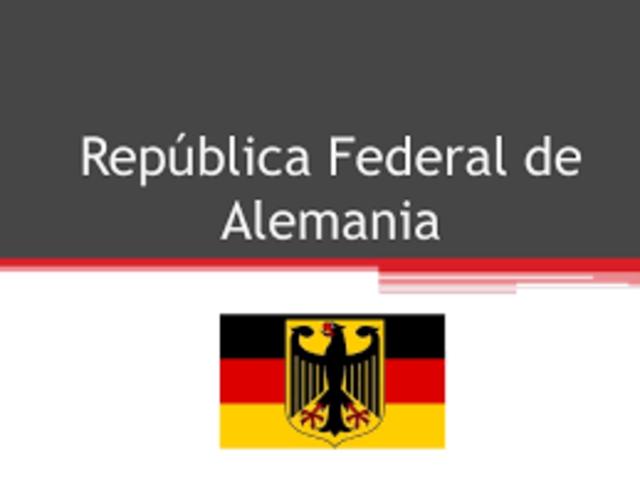 RFA (REPÚBLICA FEDERAL ALEMANA)