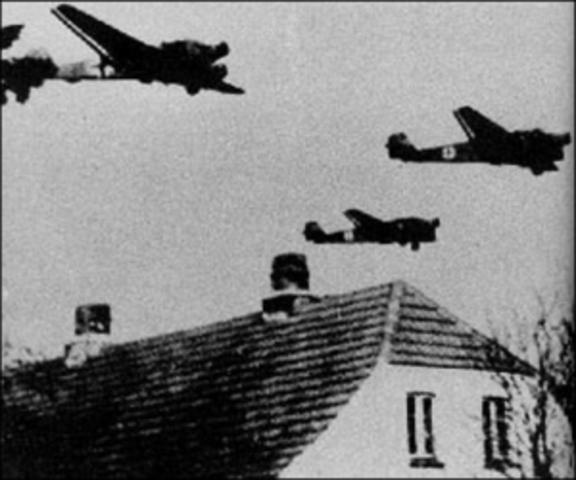 Alemania ataca Dinamarca