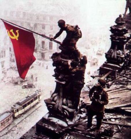 La URSS ocupa Berlin