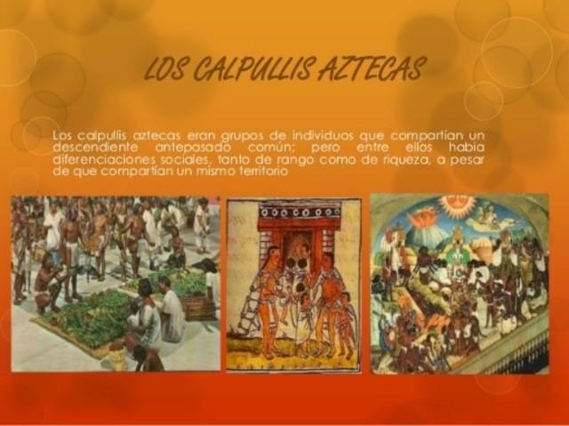 Organización política y social de los aztecas.
