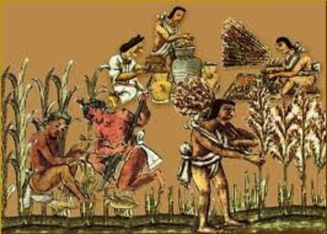 Tenencia de la tierra entre los aztecas