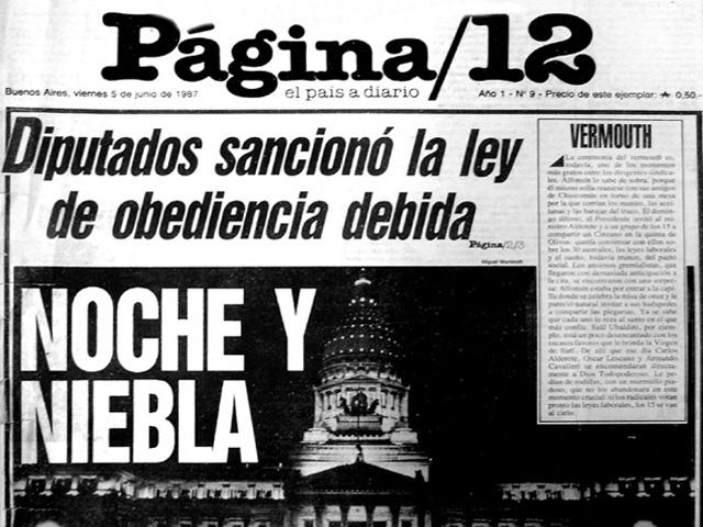 LEY DE OBEDIENCIA DEBIDA