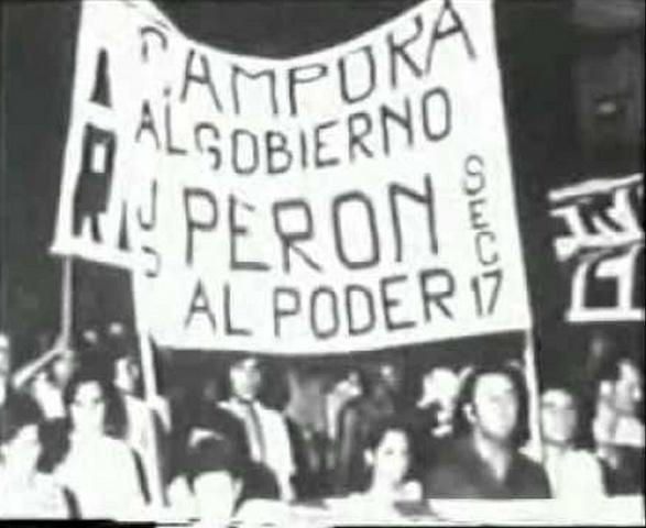 3° GOBIERNO DE PERON