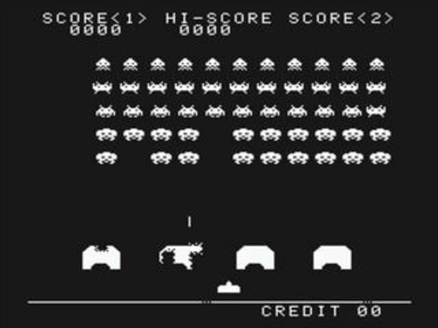 Создана игра «Space Invaders».