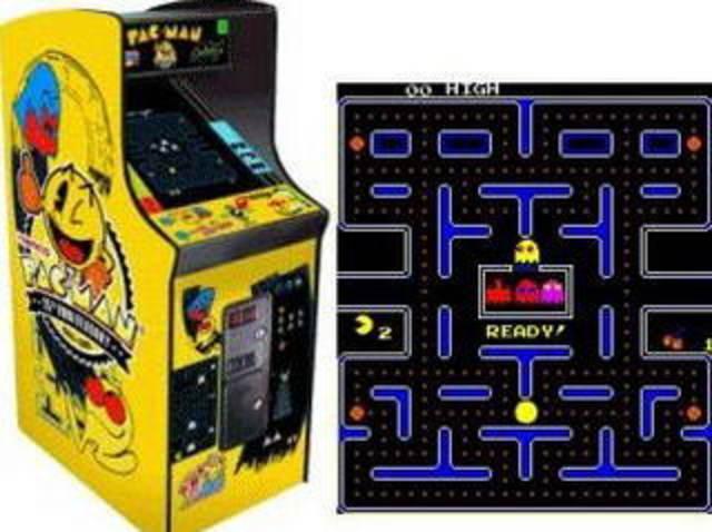 Создан автомат с игрой «PacMan».