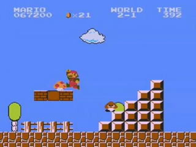 Создана игра «Super Mario Bros».