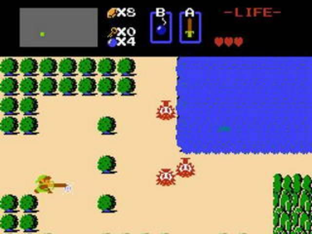 Выходит приключенческая игра «The Legend of Zelda».