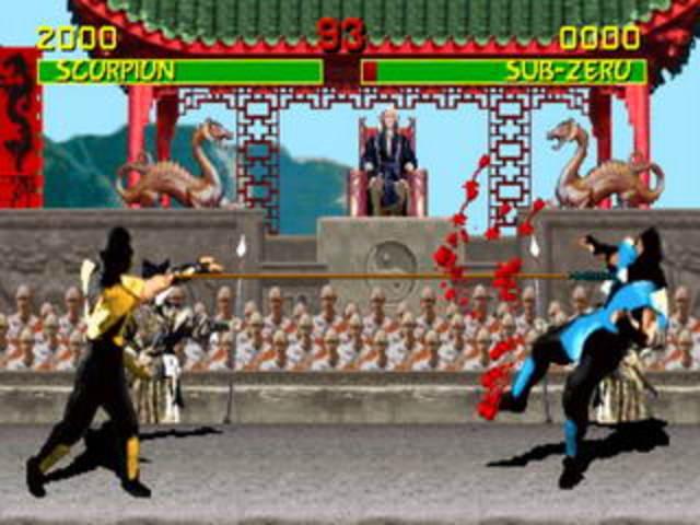 Создана игра «Mortal Kombat».