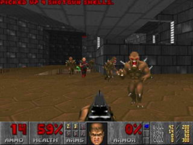 Выпущена игра «Doom».