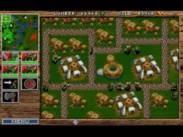Создана стратегия «Warcraft: Orcs and Humans».