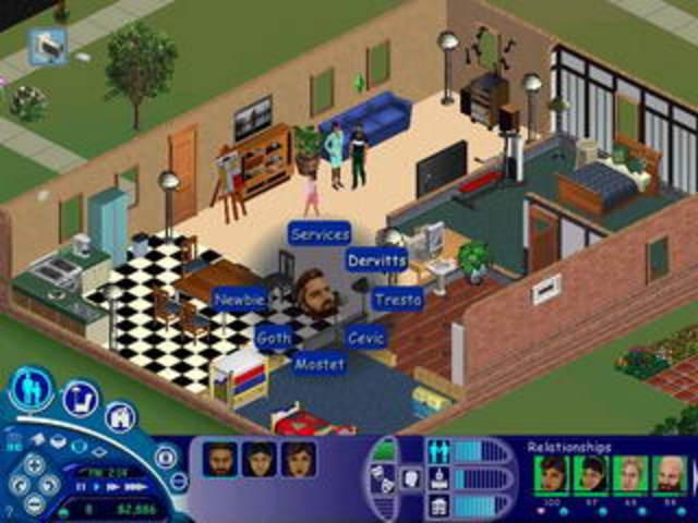 Создана игра «The Sims».