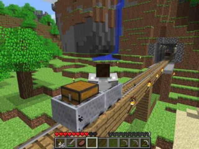 Выходит инди игра «Minecraft».