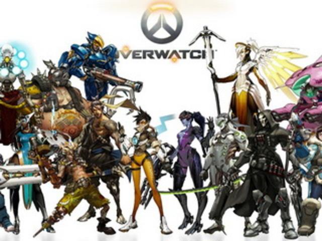 Выходит игра «Overwatch».