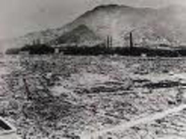 Atomic Bomb Dropped on Negasaki