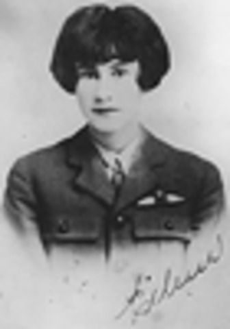 Canada's first licensed female pilot