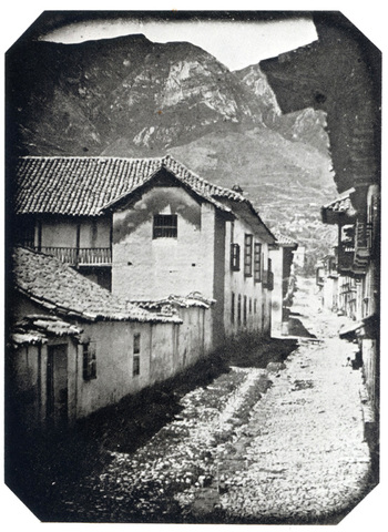 la primera foto tomada en Bogotá