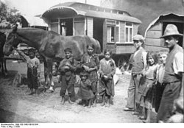 הצוענים הגיעו למרחב דוברי הגרמנית