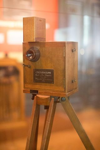 Invention of cinematograph