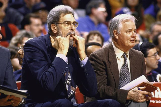 Phil Jackson and Charley Rosen