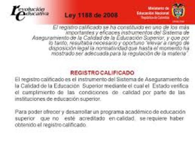 Normatividad legal de programas formativos de virtualidad