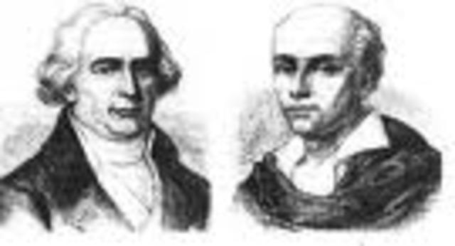 Joseph and Jacques Montgolfier