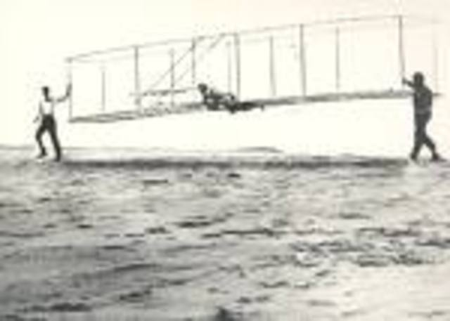 American Wright Flyer 1- first powered flight