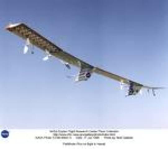 Gossamer series of human-powered aircraft