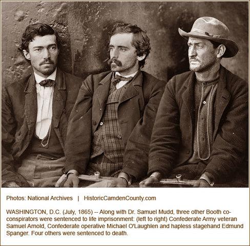 Lincoln Conspirators Arrested
