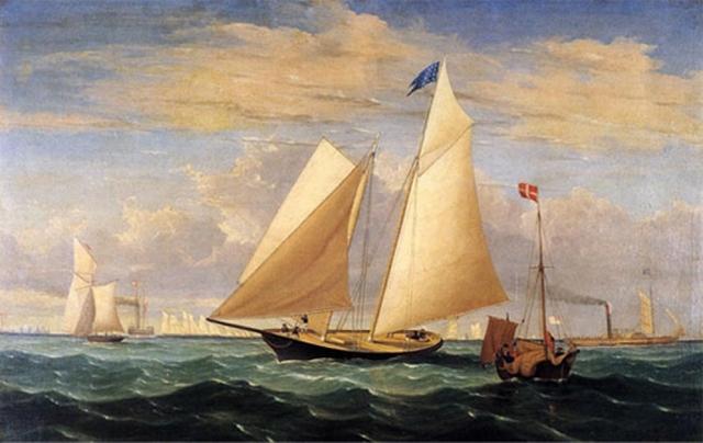 First Yacht Race