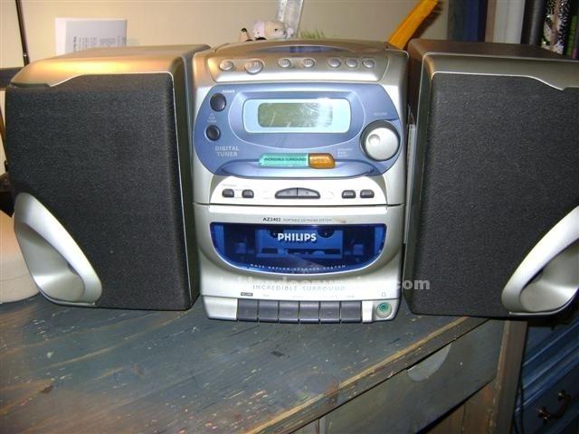 Primera minicadena con CD