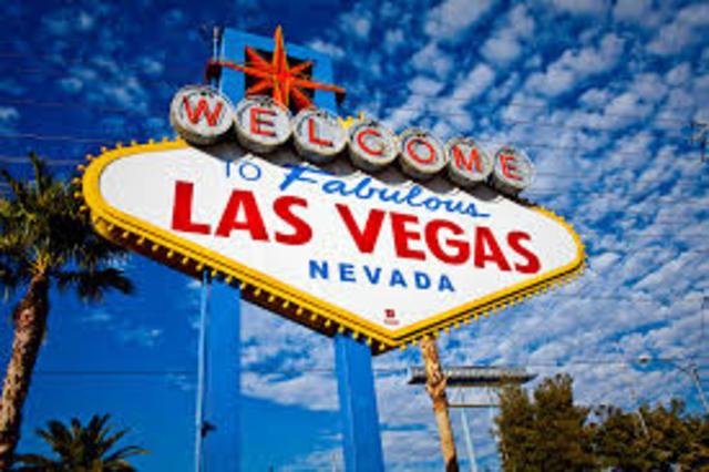 Chris Enters Las Vegas