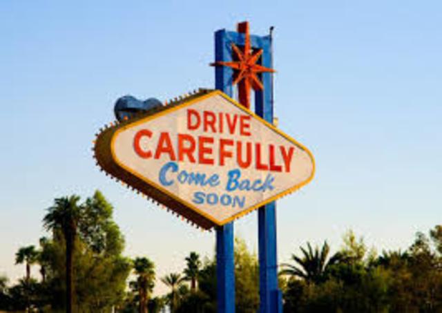 Chris Leaves Las Vegas