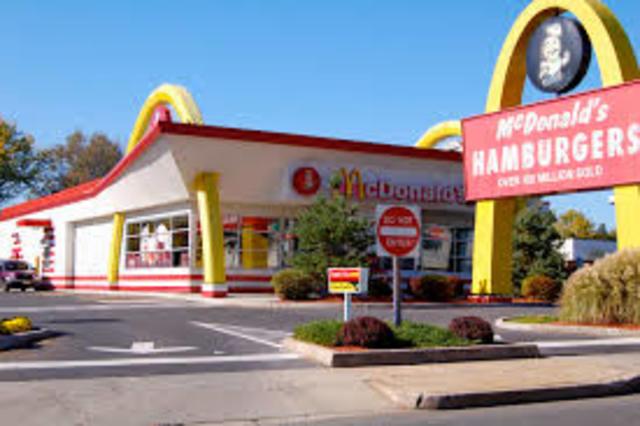 Job at McDonald's