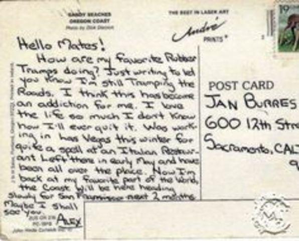 Chris Writes to Burres