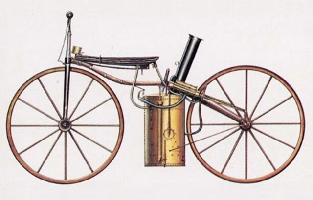 Første motorcykel