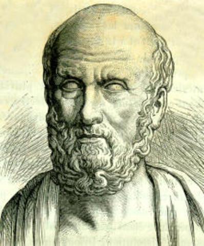 Hipócrates afirma que el hombre transmite las características hereditarias en el semen (Semilla). Debehaber otro fluido en la mujer. El aportees aproximadamente igual.