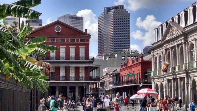 New Orleans Segregation Protest