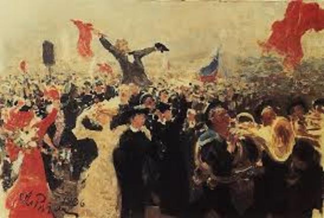 Las revoluciones de 1905 y 1917