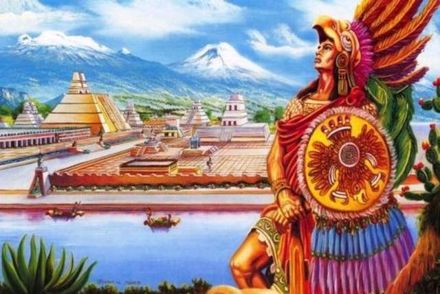 1100-1521 México: Civilización Azteca.