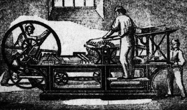 Invención de la imprenta en Europa.
