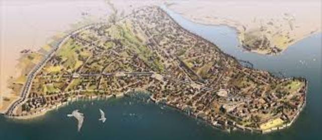 Constantinopla: Toma de la ciudad por los turcos y fin del Imperio Romano de Oriente.