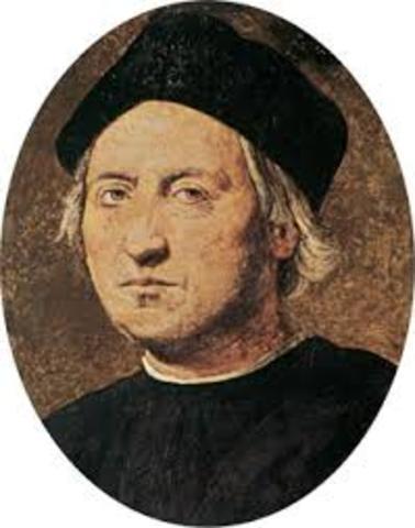 Descubrimiento del Nuevo Mundo por la expedición de Cristóbal Colón
