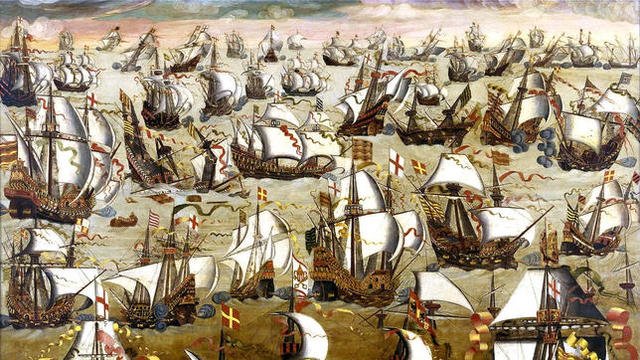"La derrota de ""La Armada Invencible"""