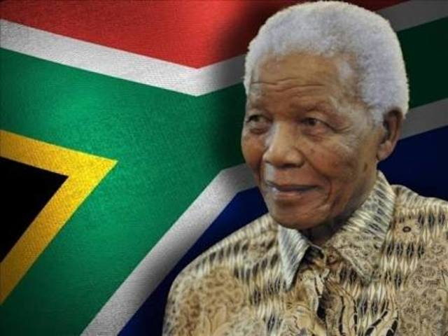 Elected as a president in South Africa