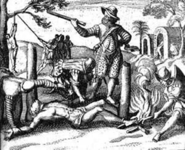 Gran cantidad de Muerte de indígenas