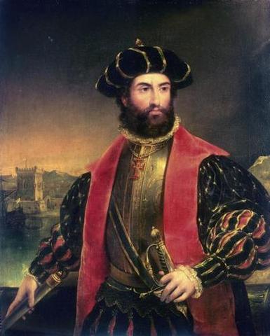 Vasco de Gama saills for India