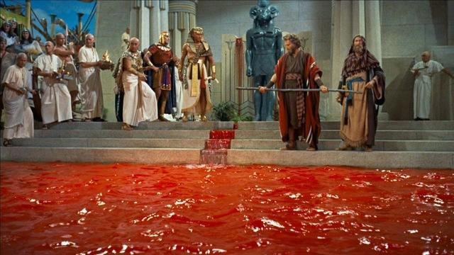 La plaga de sangre